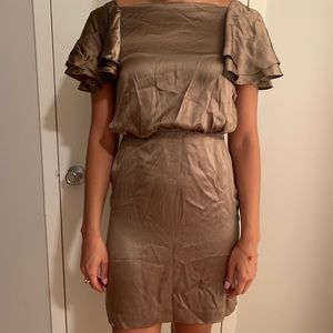 Banana Republic Taupe Dress